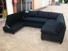 Custom Corner lounge, first side open